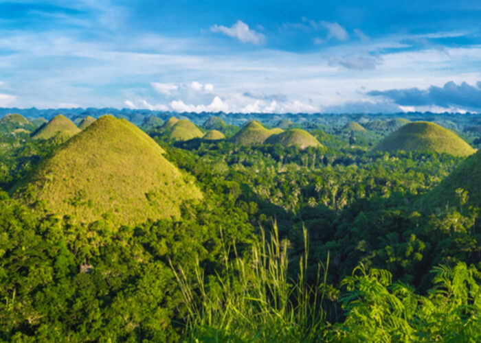 Philippines Holiday Bohol Chocolate Hills
